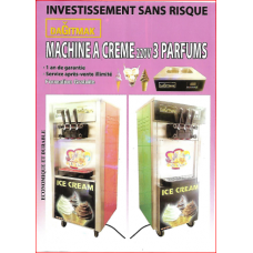 Ice Cream Machine with 3 Perfumes-Machine a Creme 220v DAGITMAK
