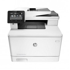 HP M477fdw LaserJet Pro MFP Color Printer - White