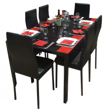 6 SEATS DINNING TABLE
