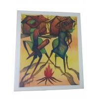 Tableau Danse africaine