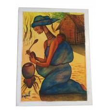 African paints