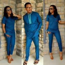 womens and mens couples pants set