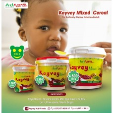kayvey mixed cereal 600g cardboard 12