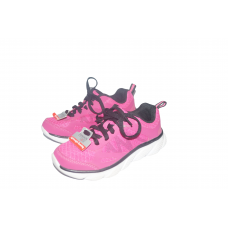Girls Athletic Fuschia Lightweight Running Shoes