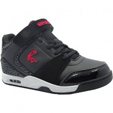 Chaussure à lacets en velcro Athletic noir et blanc