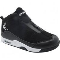 Chaussure à glissière athlétique Shaq Boys, noir et blanc