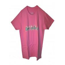 Boloboss print t-shirt - pink