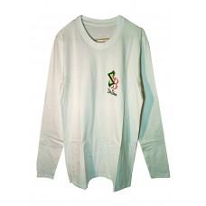 Boloboss long sleeve t-shirt - printed - white