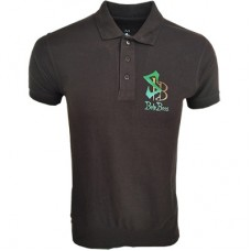 Boloboss polo shirt - print- black