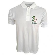 Boloboss polo shirt - print- white