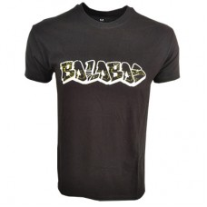 Boloboss printed t-shirt - Black