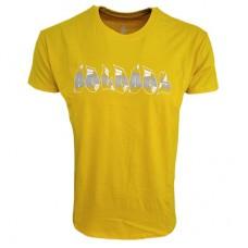Boloboss printed t-shirt - Yellow