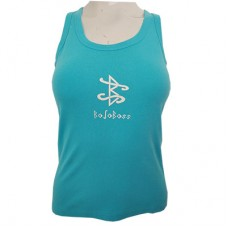 Printed Boloboss tank top - Sky blue