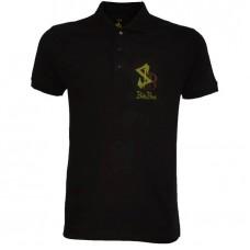 Boloboss polo shirt - print- black