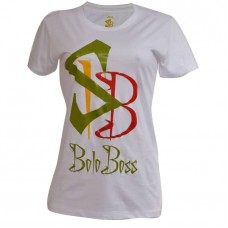 Boloboss T-shirt - white print