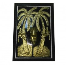 Mask wall art: art moderne