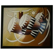 Drum wall art: art moderne