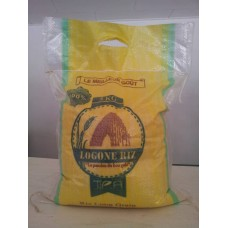 Logone Rice Nouria - packs of 2 White rice 5kg Naturally scented