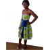 JM FASHION-Evening Dress Fabric Pagne