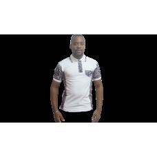 Polo Afritude Blanc