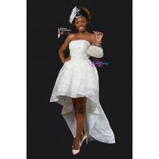 courte robe de mariee