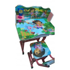 STUDY TABLE AND CHAIR FOR CHILDREN