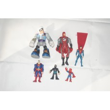 little pack of superhero toys