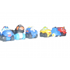 small toy package including car figurine
