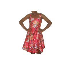 Dress Printed red  - Nicole Miller- size 10