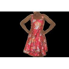 Robe Rouge imprimé  - Nicole Miller- taille 10
