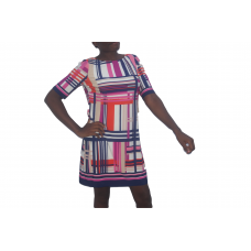 376-5000 Gay Stripes Dress LM-Eliza J