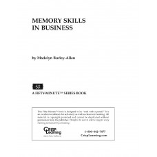 Memory Skills In Business - Madelyn Burley Alle