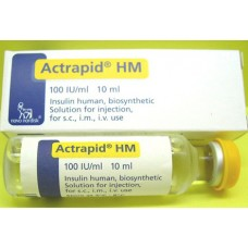insactrapid hm 100ui flacon-10ml