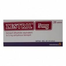 zestril 5mg comprime boite-28