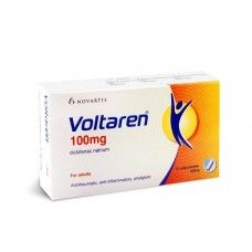 voltarene 100mg suppositoire boite-30