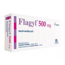 flagyl 500mg comprime boite-14