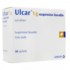 ulcar 1g buvable suspension sachet 30