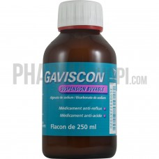 gaviscon suspension buvable 250ml adulte