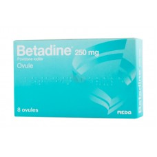 Betadine 250 mg ovule boîte de 8