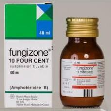fungizone suspension  buvable 40ml
