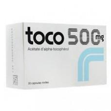 toco 500mg capsule mol boite-30