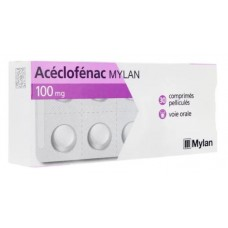 Aceclofenac mylan 100 mg comprime pellicule boite de 30