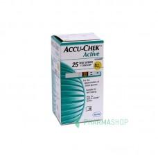 ACCU-CHEK Active BANDELETTES - 25 bandelettes