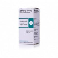 Bevitine 250 mg comprime enrobe boîte de 20