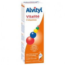 Alvityl Sirop 11 vitamines - 150 ml