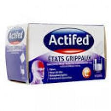 ACTIFED ETATS GRIPPAUX poudre pour solution buvable en sachet-dose