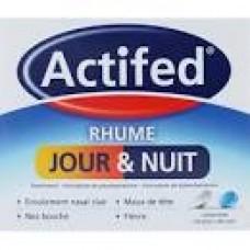 ACTIFED RHUME JOUR ET NUIT comprime boite de 16