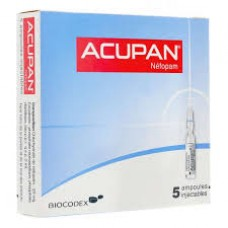 ACUPAN 20 mg Solution injectable BoIte de 5 Ampoules de 2 ml