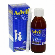 Advil sirop enfant et nourrisson 20mg 200 ml