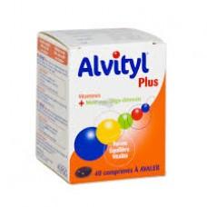ALVITYL PLUS Vitalite Comprimes enrobes Boite de 40ALVITYL PLUS Vitalite Comprimes enrobes Boite de 40ALVITYL PLUS Vitalite Comprimes enrobes Boite de 40